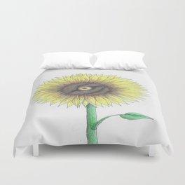 Seeing Sunflowers Duvet Cover