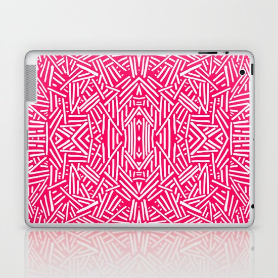 Radiate (Coral) Laptop & iPad Skin