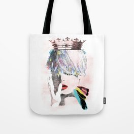 ART SAVE THE QUEEN Tote Bag