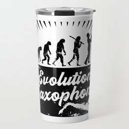 Evolution Saxophone Travel Mug