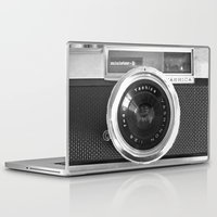 bag Laptop & iPad Skins featuring Camera by Nicklas Gustafsson