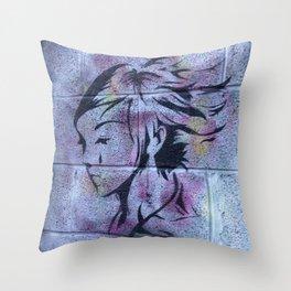 Dublin Girl Throw Pillow