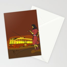 Julia's third leg Stationery Cards