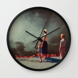 Mother Show Me The Way Wall Clock