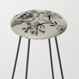 Magical Moth Counter Stool