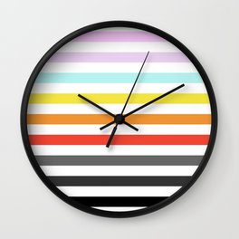 17 Stripes Wall Clock