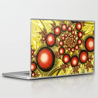 chinese Laptop & iPad Skins featuring Chinese Balls by Alice Gosling