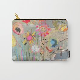 fresh pot of flowers for you Carry-All Pouch