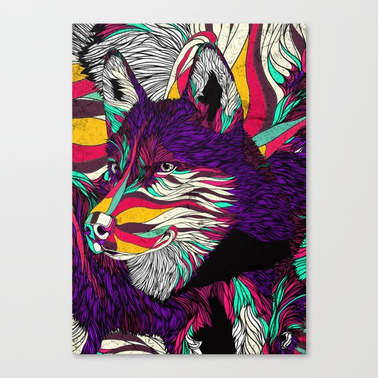 Color Husky (Feat. Bryan Gallardo) Canvas Print