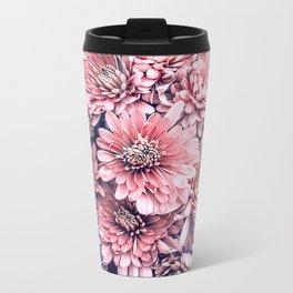 Flower Photography Pink Blossoms Spring Easter Pattern Metal Travel Mug