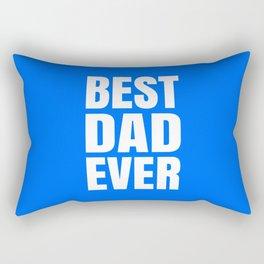 BEST DAD EVER (Blue) Rectangular Pillow