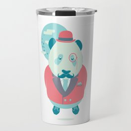 Reginald Pandafield IV Travel Mug