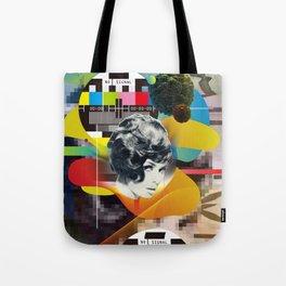 Television Art Tote Bag