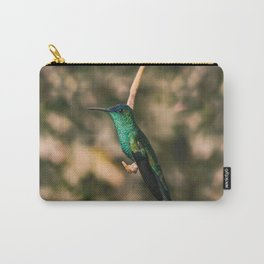 Hummigbird Thalurania Glaucopis Trochilidae Carry-All Pouch