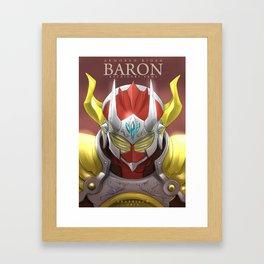 Baron Kachidoki Framed Art Print