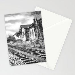 Railroad Mayfield B/W Stationery Cards