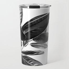 Grandiflora II - bw Travel Mug