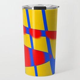 A arte das formas e cores!! Travel Mug