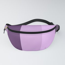 Purple Lavender Stripe Fanny Pack