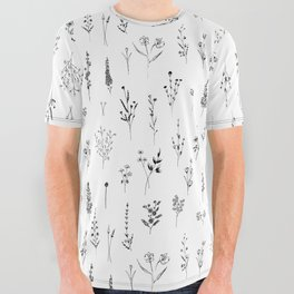 Wildflowers All Over Graphic Tee