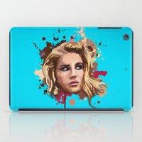 lana iPad Cases featuring Lana by Devis Pederzini