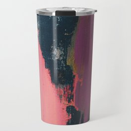 Anywhere: a bold, colorful abstract piece Travel Mug