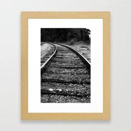 Going Left Framed Art Print