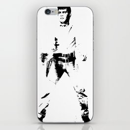 FPJ black and white iPhone Skin