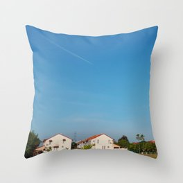 Desa Putra - A Princely Countryside Throw Pillow