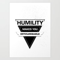 posters Art Prints featuring Quote Posters by Michael Descharles