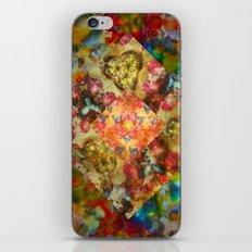 Tie Dye Kaleidoscope Diamond iPhone & iPod Skin