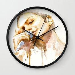 brian molko (honeyed) Wall Clock