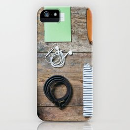 Get ready for the trip. Woman edition iPhone Case