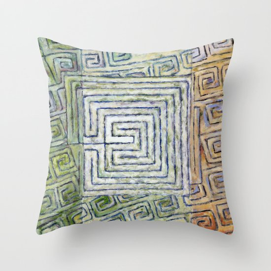 Síocháin (Peace) Throw Pillow