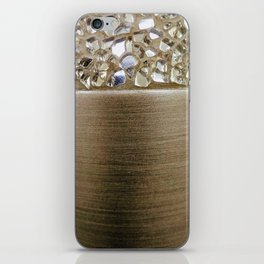 Gold Iridescence and Mirrors iPhone Skin