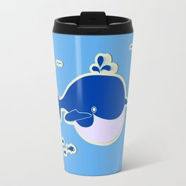 BLUE WHALE Travel Mug
