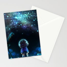 Starry (Night) Undertale Stationery Cards