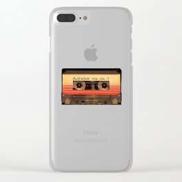 casette guardian Clear iPhone Case