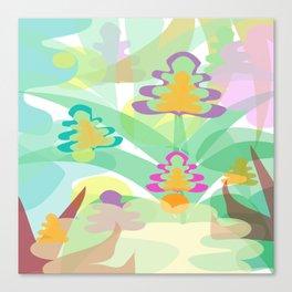 Mystery Flora Canvas Print