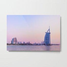Dubaï, The Seven Stars Metal Print