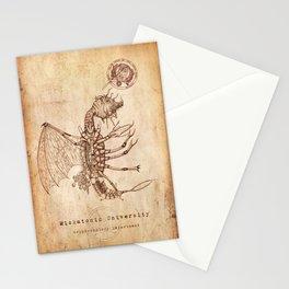 Miskatonic Surgery - Mi Go (Cosmocrustatus invisibilis) Stationery Cards