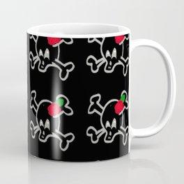 Love Skulled Coffee Mug
