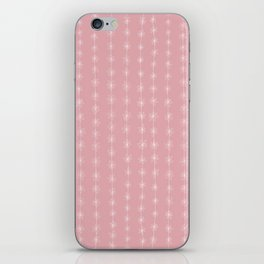 Pink Daisy Chain iPhone Skin
