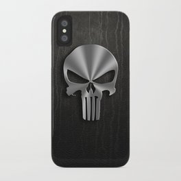 tribal punisher iPhone Case