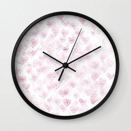 coeurs perdus Wall Clock