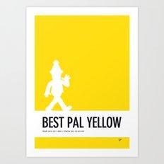 No31 My Minimal Color Code poster Bert Art Print
