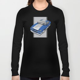 86 L-Body Charger Blue Long Sleeve T-shirt