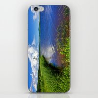 beaver iPhone & iPod Skins featuring Beaver Brook by Nicolas Raymond