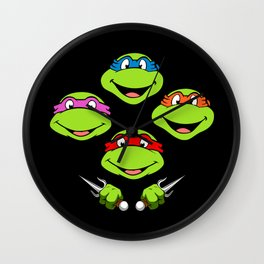 Ninja Turtles Rhapsody Wall Clock