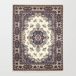V8 Moroccan Epic Carpet Texture Design. Poster